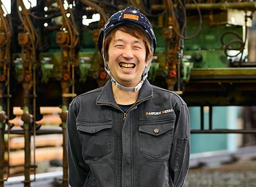 大福メタルエイト ガス班長